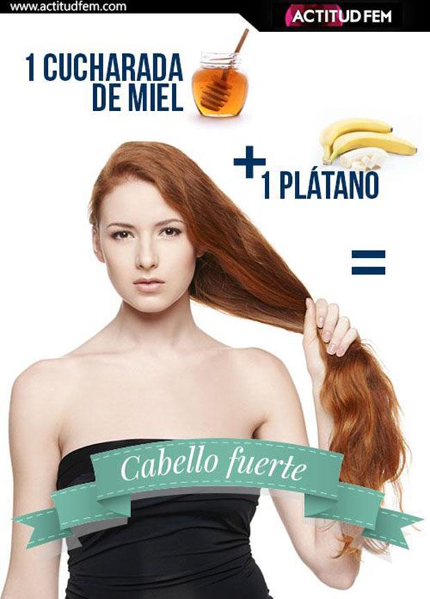 remedio para lograr un cabello fuerte