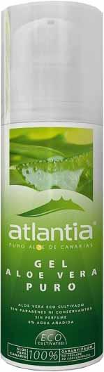gel aloe vera mercadona marca atlantia