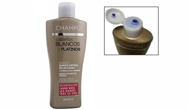 Champú Azul Mercadona  precio y usos del matizador de cabellos 3c9275c2b678
